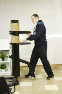 Program presentation LEE DAY Wooden Dummy Service